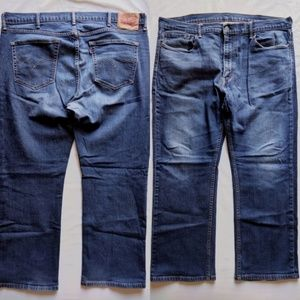 Levis Relaxed Straight Medium Wash 559 Jeans 40x30